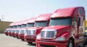 xe contaner vận chuyển hàng hóa