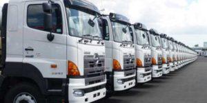Xe tải chở hàng Tân Phú