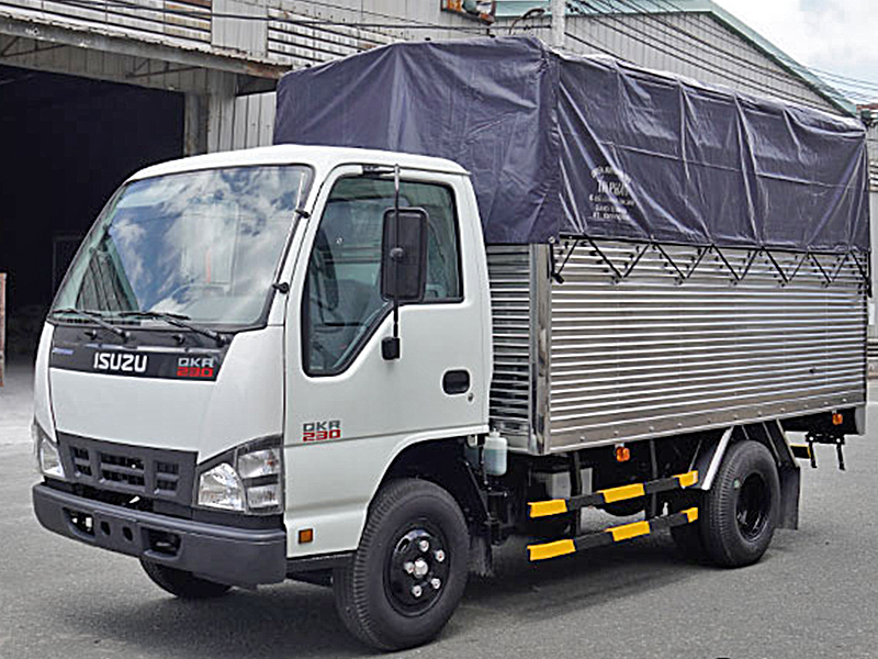 Thuê xe tải chở hàng TPHCM